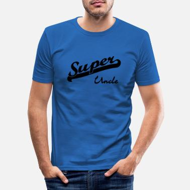 Uncle super uncle - Men's Slim Fit T-Shirt