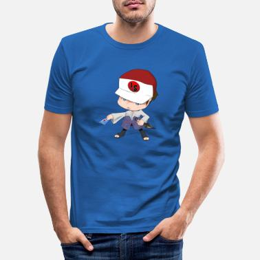 Chibi Chibi - Men's Slim Fit T-Shirt