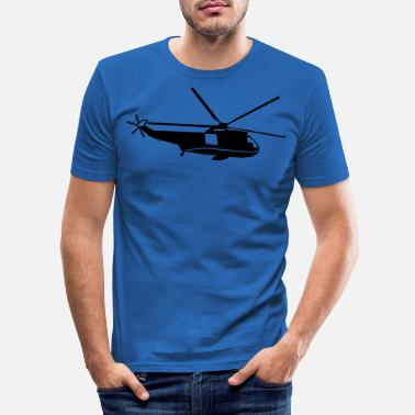 Helicopter helicopter kids military rc - Men's Slim Fit T-Shirt