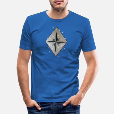 Wind Wind Rose - T-shirt slim fit herr