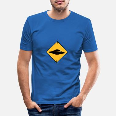 Ufo Geek - Mannen slim fit T-shirt