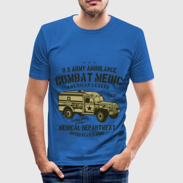US Army Ambulance - Männer Slim Fit T-Shirt