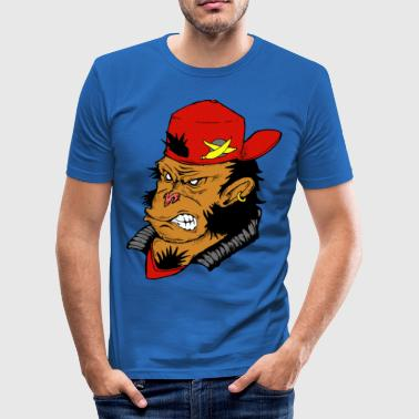 Monkey Funky - Men's Slim Fit T-Shirt
