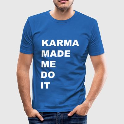 KARMA - Herre Slim Fit T-Shirt