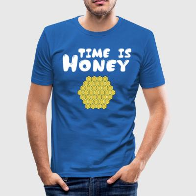 ++Time is Honey++ - Männer Slim Fit T-Shirt