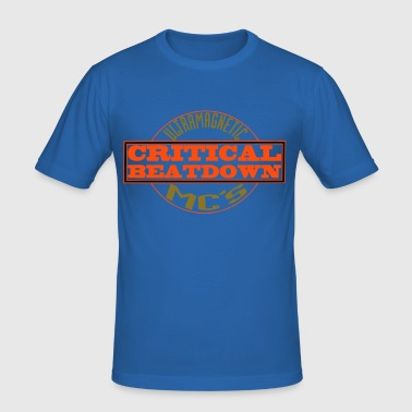 critical bass - Men's Slim Fit T-Shirt