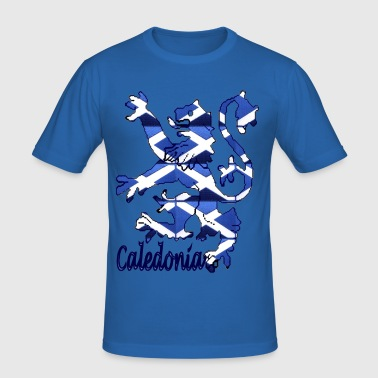 Scottish caledonia lion graphic - Men's Slim Fit T-Shirt