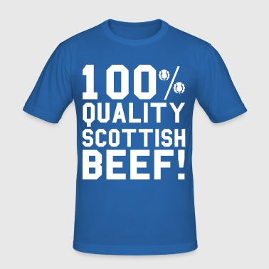 Scottish - Men's Slim Fit T-Shirt
