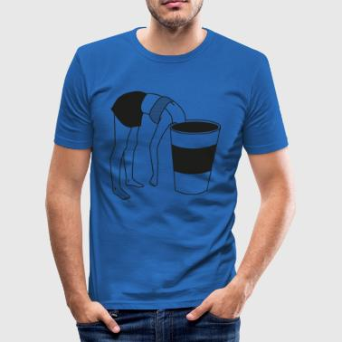 COFFE BREAK - Men's Slim Fit T-Shirt