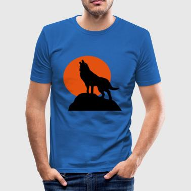 6061912 121522152 Wolf - Slim Fit T-skjorte for menn