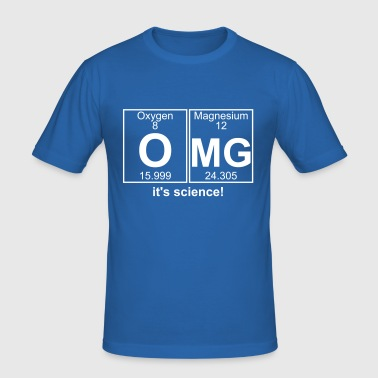 O-Mg (omg) - Full - Herre Slim Fit T-Shirt
