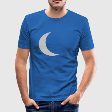 månen - Slim Fit T-shirt herr