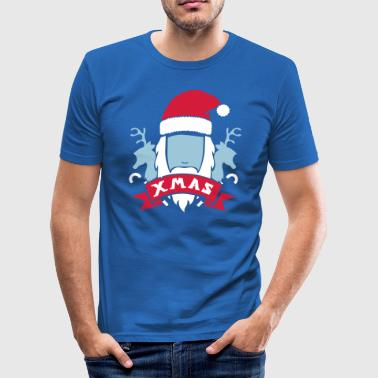 Christmas Coat - Men's Slim Fit T-Shirt
