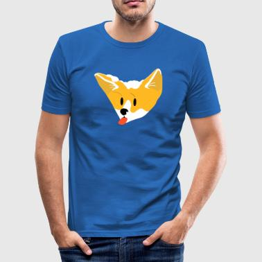 SnowFox - Männer Slim Fit T-Shirt