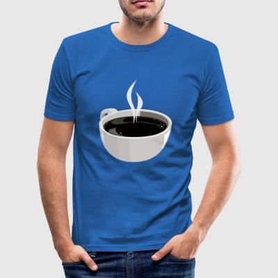 kopp kaffe - Slim Fit T-shirt herr