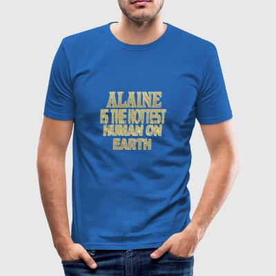 Alaine - Slim Fit T-skjorte for menn