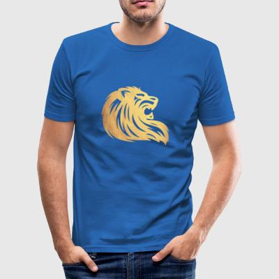 Golden Lion - Herre Slim Fit T-Shirt