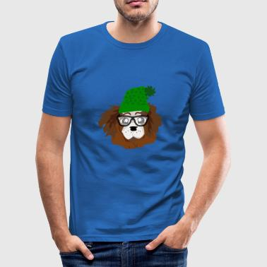 NERDY LOVELY VALP - Slim Fit T-shirt herr