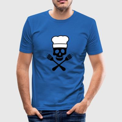 6061912 119191334 Pasta Pirate - Herre Slim Fit T-Shirt