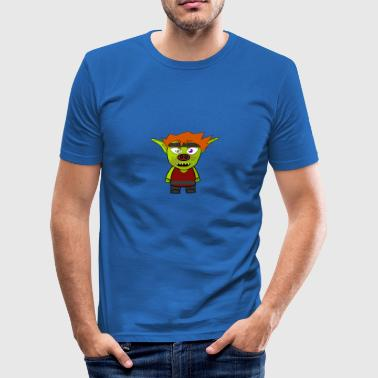 seriefigur - Slim Fit T-shirt herr