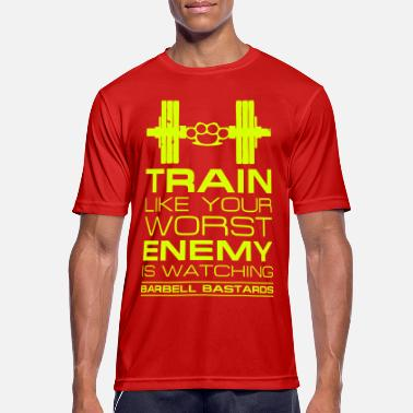 Barbell Bastards Worst Enemy - Men's Sport T-Shirt