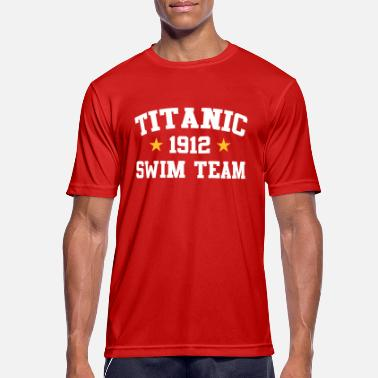 Titanic Titanic Swim Team 1912 - Men's Sport T-Shirt