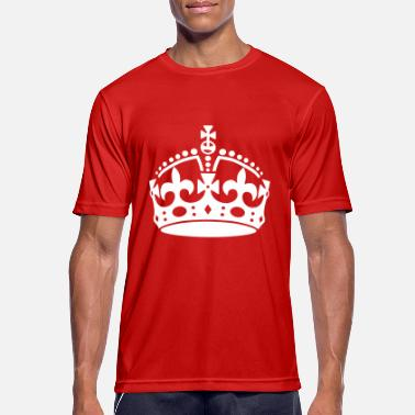 Keep Calm Crown Keep Calm Crown - Miesten urheilu t-paita