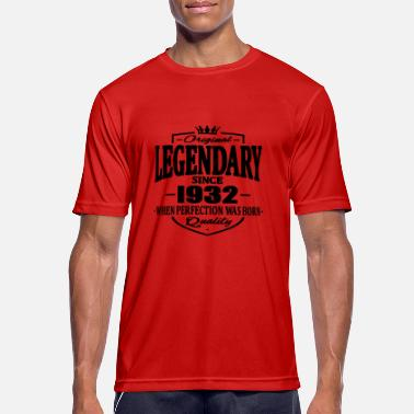1932 Legendarisk sedan 1932 - Sport T-shirt herr