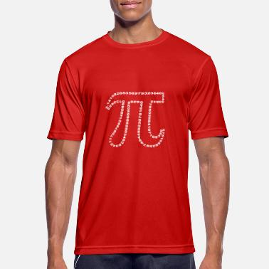Occupation pi outline - Men's Sport T-Shirt