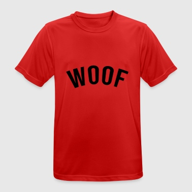 WOOF - Men's Breathable T-Shirt