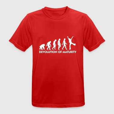 Matured The Evolution Of Maturity - Men's Breathable T-Shirt