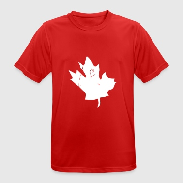 Canadian Maple Leaf - Herre T-shirt svedtransporterende