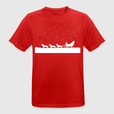 Christmas tax - Andningsaktiv T-shirt herr