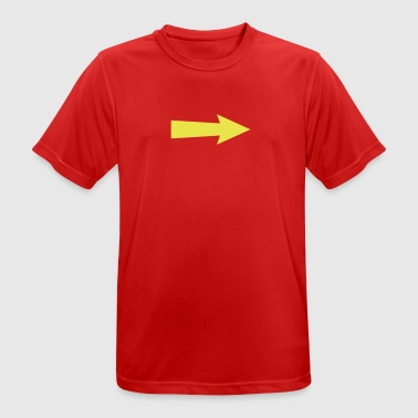 arrow III - mannen T-shirt ademend