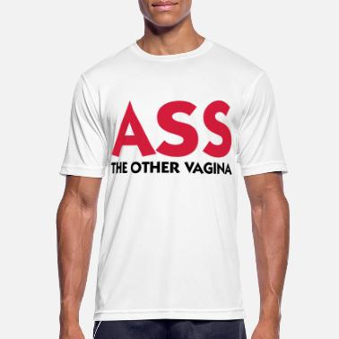 Vagina Ass: The other Vagina! - Men's Sport T-Shirt