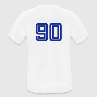 College Numbers, Nummern, Sports Numbers, 90 - Camiseta hombre transpirable