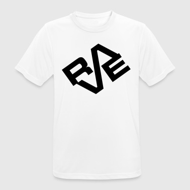 Rave EDM Quote - Men's Breathable T-Shirt
