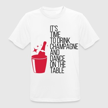 It s time, that we drinking champagne! - Men's Breathable T-Shirt