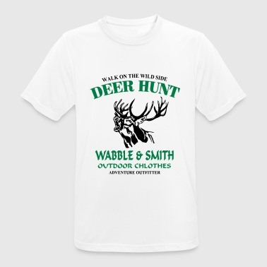 Deer Hunt - Men's Breathable T-Shirt