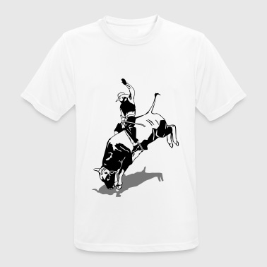 Western Rodeo - Bullrider - Camiseta hombre transpirable