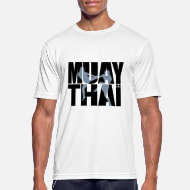 Thai Muay thai logo - Sports T-shirt mænd