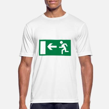 Emergency Exit Emergency exit - Men's Sport T-Shirt