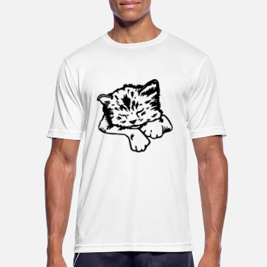 Kilgore Sleeping cat - T-shirt sport Homme