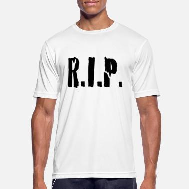 Rest r.i.p. rip rest in peace - Men's Sport T-Shirt
