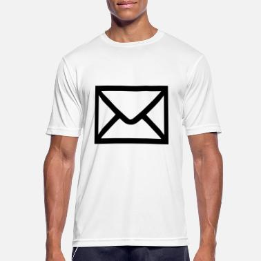 Email Brev - post - Email - Sports T-shirt mænd