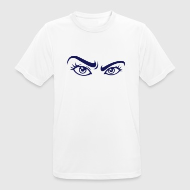 Sexy woman eyes - Men's Breathable T-Shirt