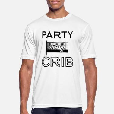 Crib Babydesign: Party at my crib - T-shirt sport Homme