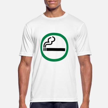 smoking allowed - Men's Sport T-Shirt