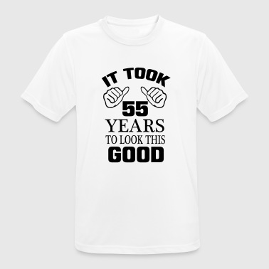 HET HEEFT 55 JAAR DUURDE, SO GOOD TO LOOK! - mannen T-shirt ademend