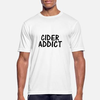 Cider cider addict - Men's Sport T-Shirt